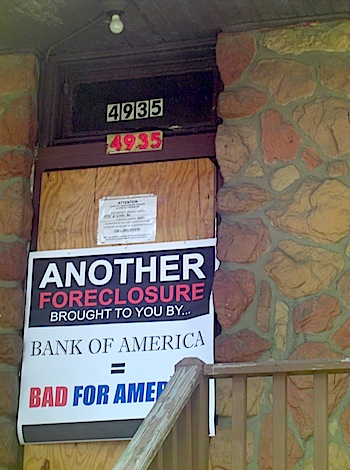 Post image for New report criticizes Bank of America for its foreclosure rate