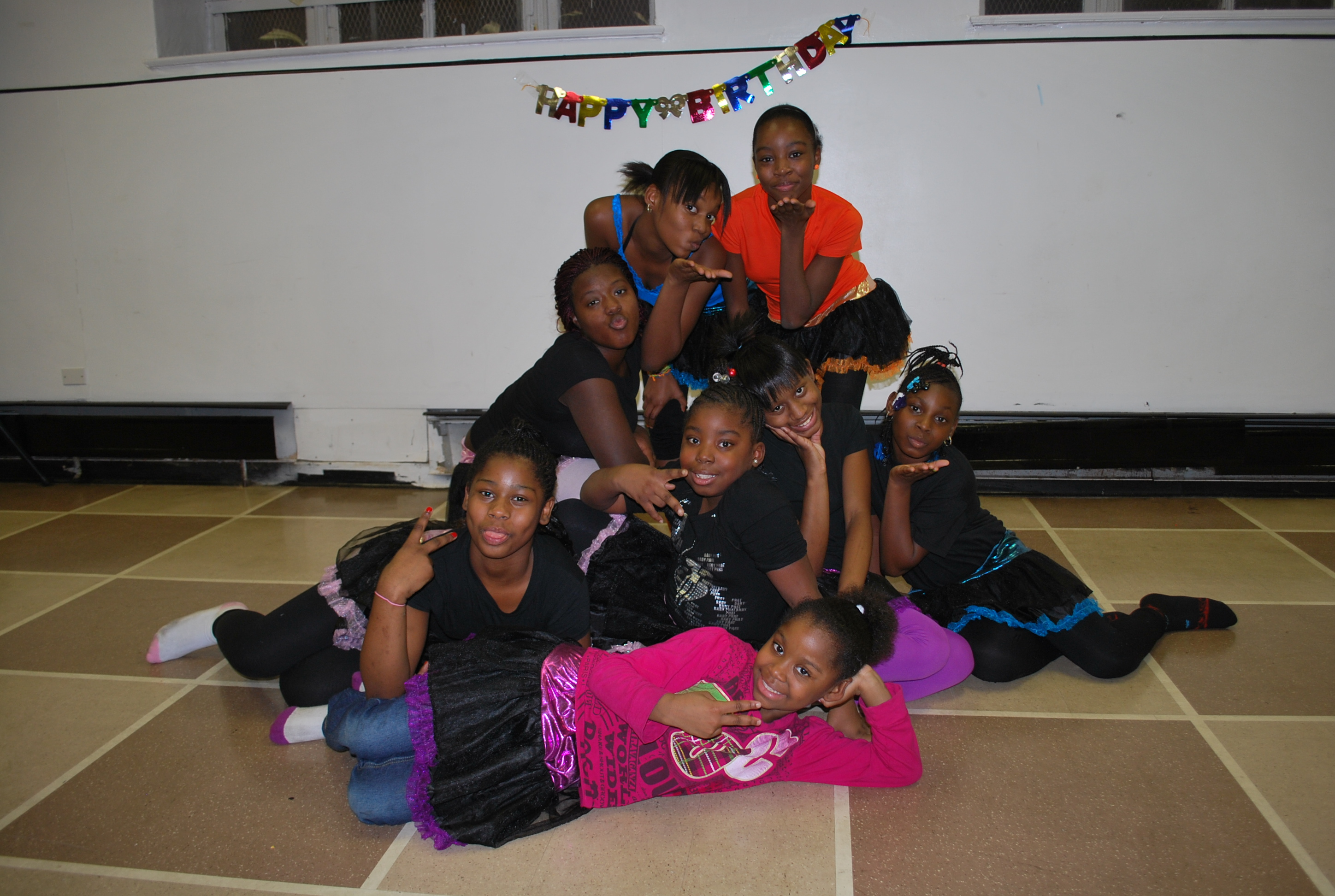 The Final Explosion dance troupe participated in the Nov 26th party. (Photo/Vee L. Harrison)