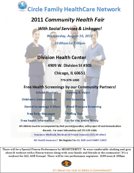 cfc healthcare fair