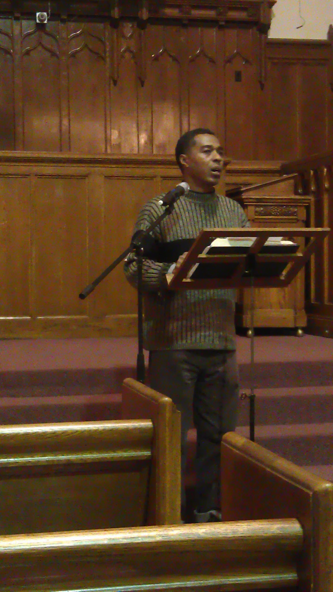 Poverty Action Campaign leader Virgil Crawford