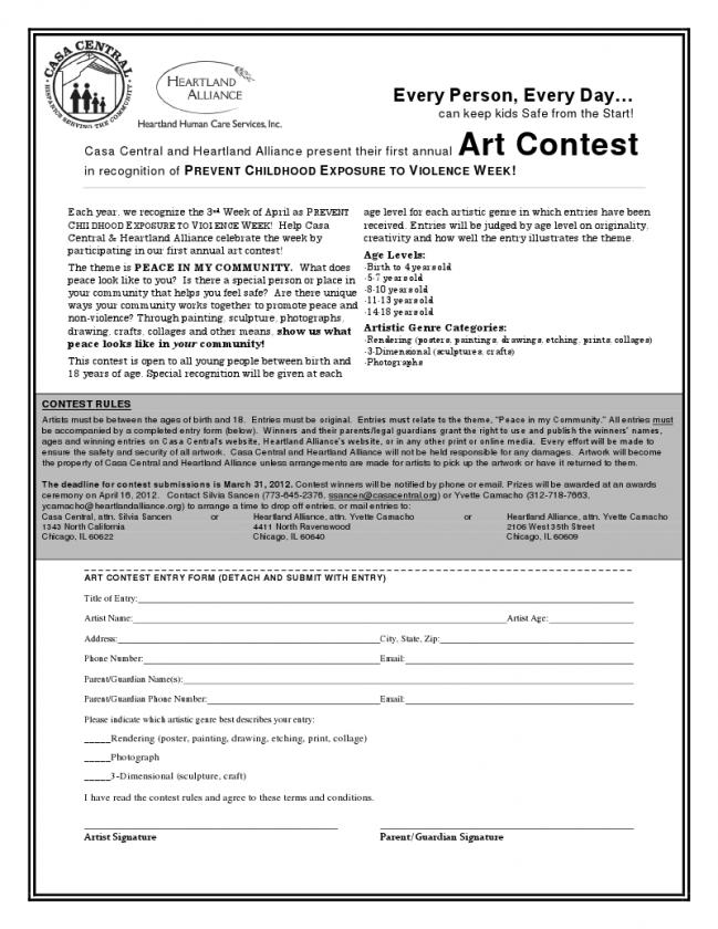 Casa Central and Heartland Alliance announce art contest | AustinTalks
