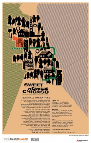 Post image for Art student creates Sweet Homes Chicago design competition poster