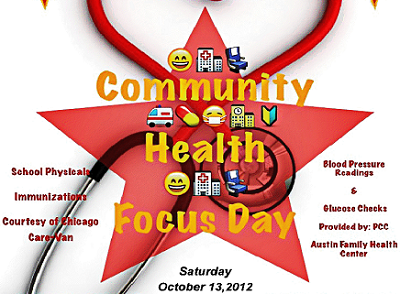 Post image for Free health event at Columbus Park Saturday