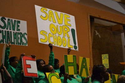Post image for West Side residents fight to keep neighborhood schools open