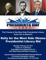 Thumbnail image for Rally set for Monday to push for Obama library on West Side