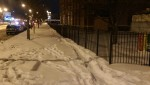 Thumbnail image for Snow covered sidewalks outside closed schools much of the week