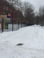 Thumbnail image for Unplowed sidewalks caused inconvenience for students, pedestrians