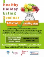 Thumbnail image for Learn how to eat healthy this holiday season