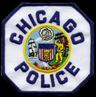 Ecusson Chicago Police
