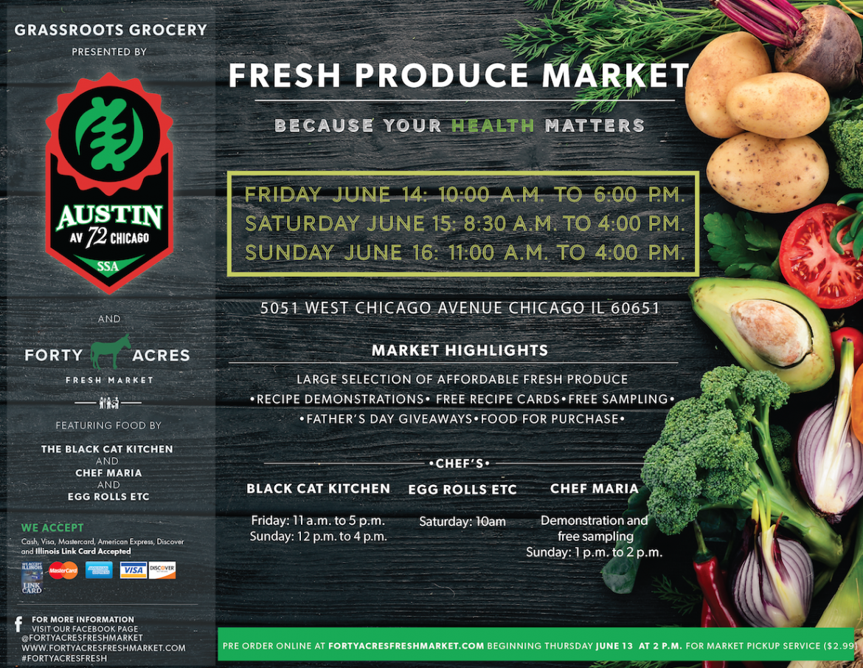 Fresh Produce Market Returns To Austin This Week